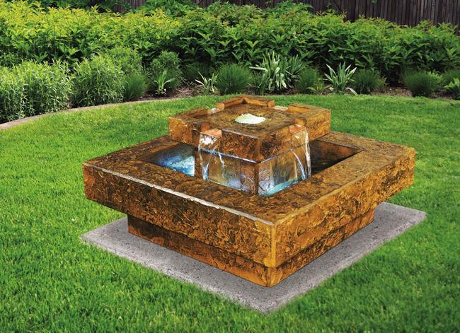 Sarasota Outdoor Fountains, Tahoe Henri Studio Fountains, Garden Fountains, Tahoe Fountain, Gulf Gate South Sarasota Fountains