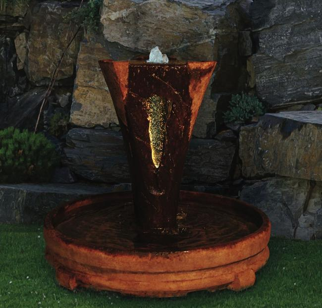 Sarasota Outdoor Fountains, Henri Studio Fountains, Garden Fountains, Vesuvio Large Fountain, Gulf Gate South Sarasota Fountains