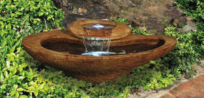 Sarasota Outdoor Fountains, River Stone Henri Studio Fountains, Garden Fountains, River Stone Fountain, Palma Sola Bradenton Fountains