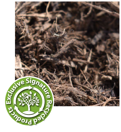 sustainable landscape signature logo, vitamulch alternative picture, chocolate mulch alternative picture, sarasota sustainable landscape, 34243 sustainable landscape picture