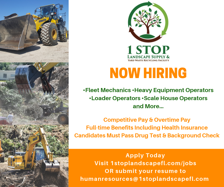 Jobs - 1 Stop Landscape Supply
