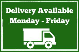 we deliver landscape supplies, landscape supply delivery, delivery available, delivery truck