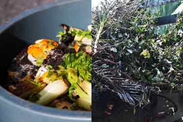 organic compost, benefits of composting, organics, food waste, yard debris