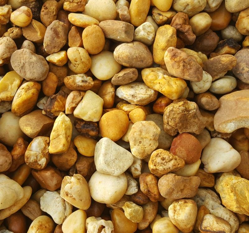 1 1-2 Inch River Rock Tan Best
